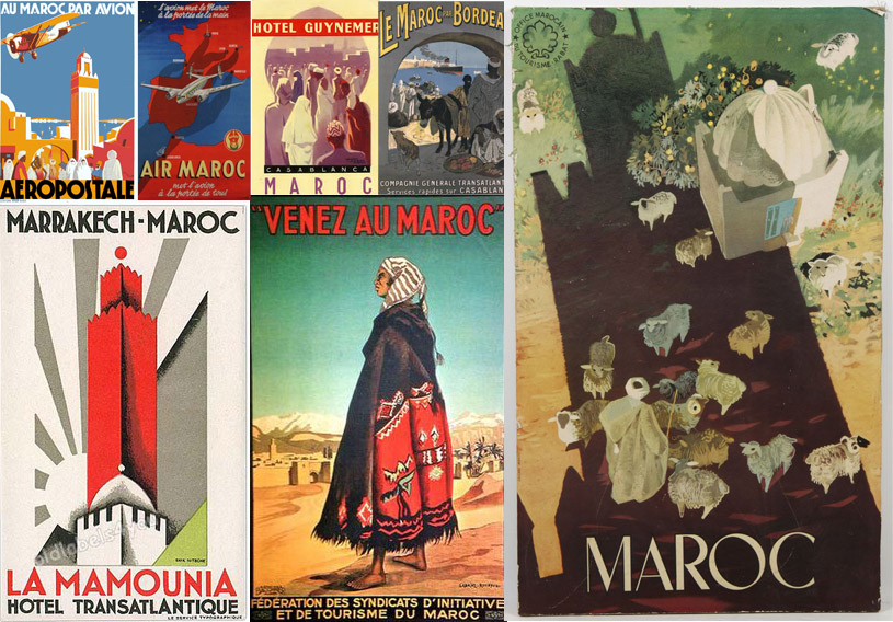vintage-posters-morocco-hunting-collecting-transport