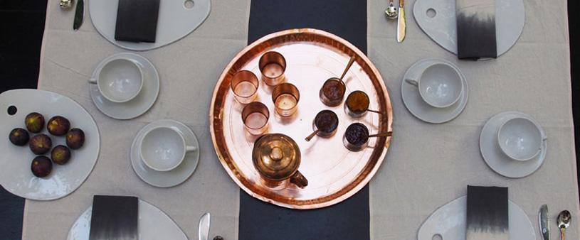 Dar Kawa, table setting