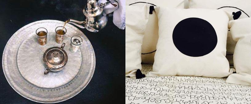 Fragments de Dar Kawa, le thé et coussins brodés V.Barkowski