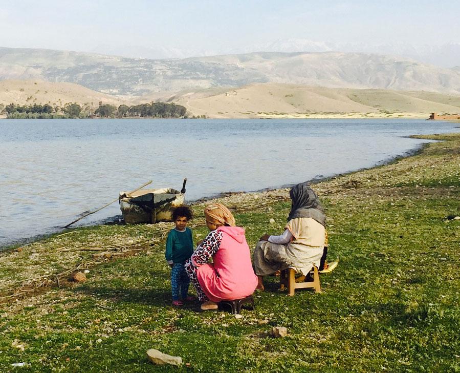 lalla takerkoust lake photo 1