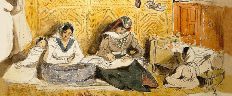 Eugène delacroix aquarelles
