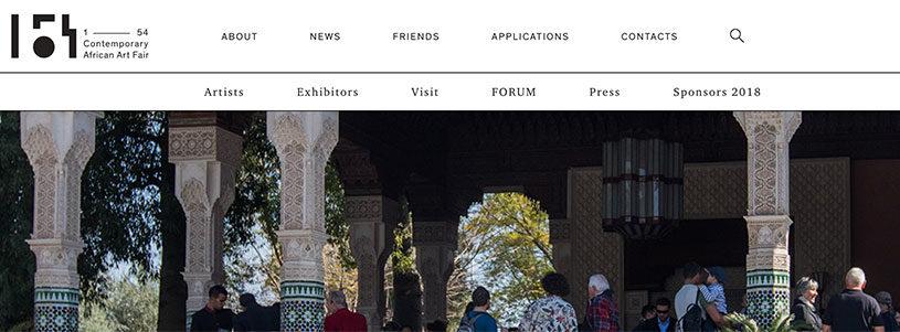 1 54 contemporary african art fair in Marrakech edition 1