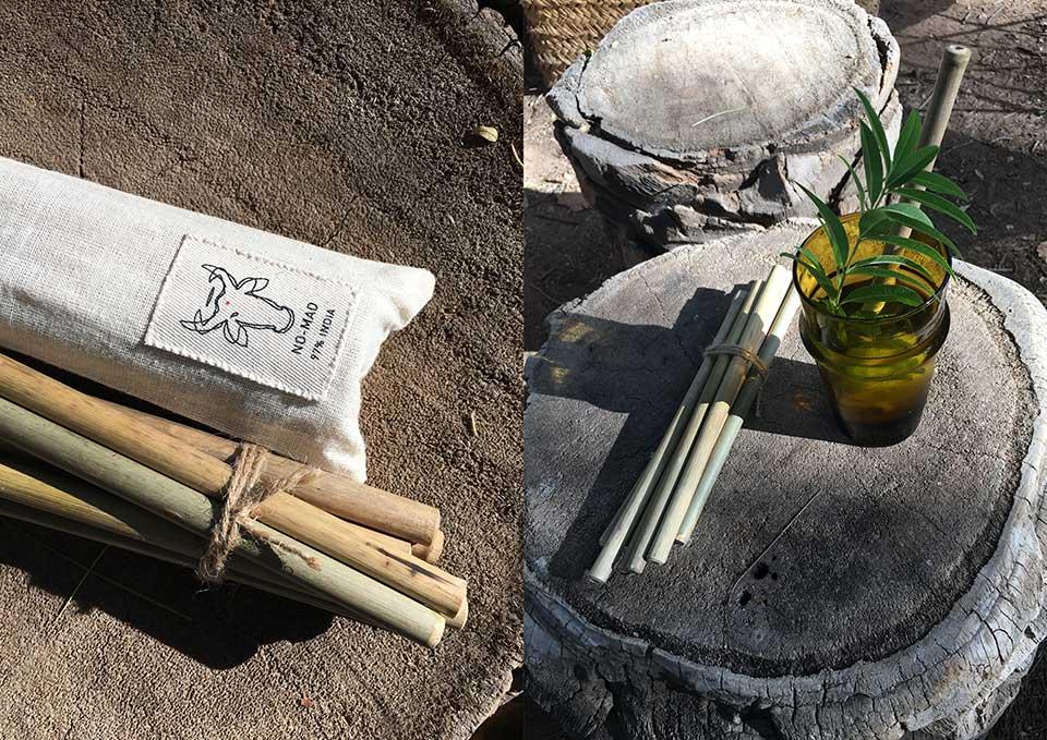 bamboo straws no-mad