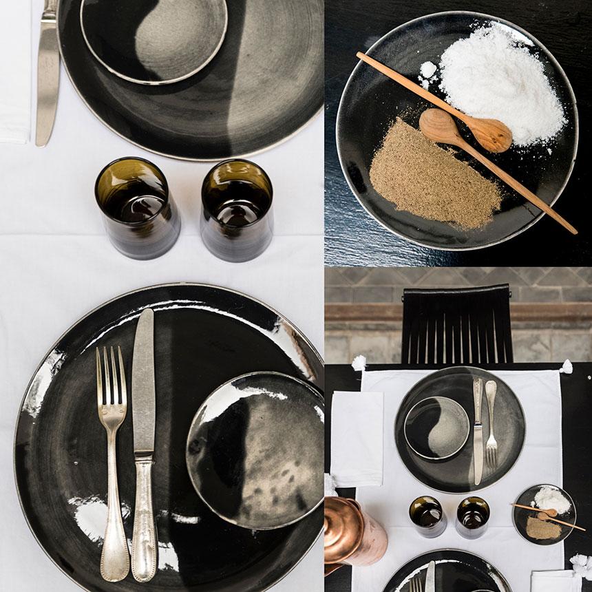 black variations lunch table dar kawa