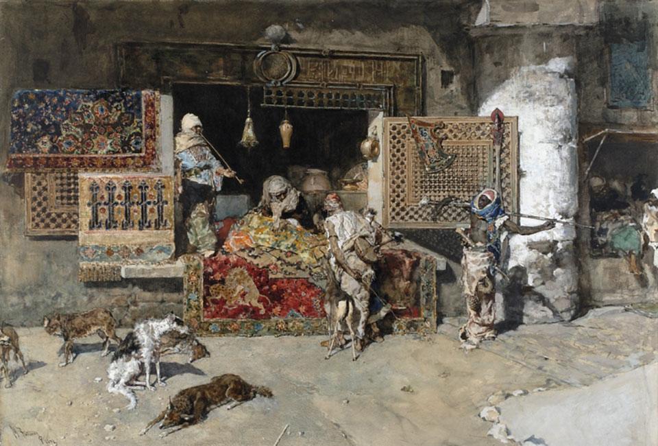 mariano fortuny morroco